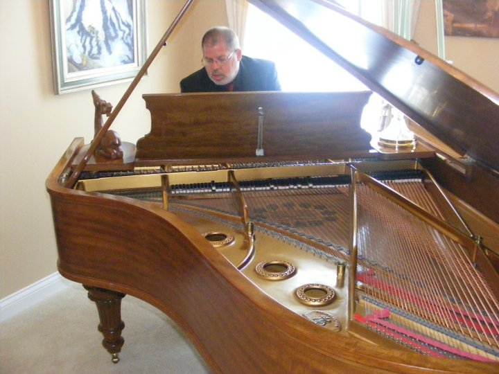 One of my favorite pianos a 1923 Steinway Grand